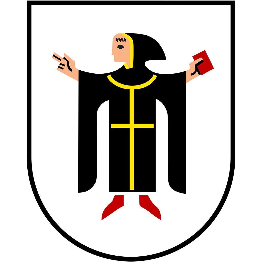 Wappen der Stadt München.