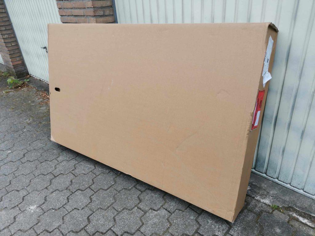 """Das """"Paket"""" mit dem neuen Fahrrad ist an gekommen. (Bild: Thorsten Claus)"""