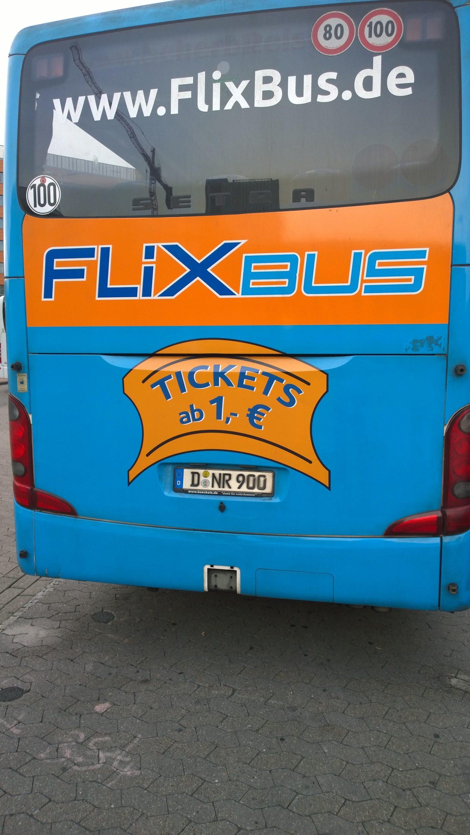 FlixBus einmal und nie wieder! (Bild: Thorsten Claus)
