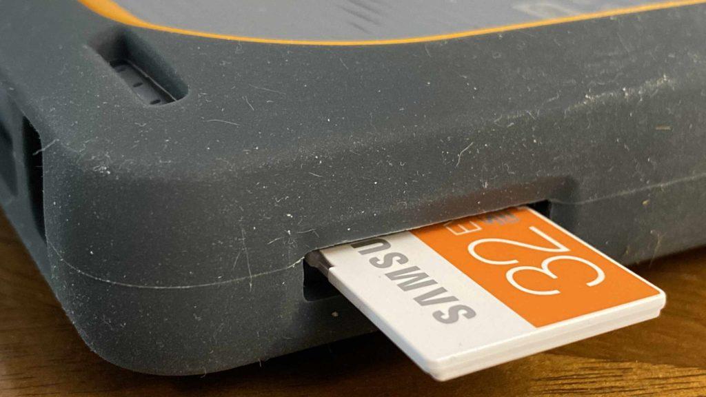 Dank des intrigierte SD-Kartenleser importiert die My Passport Wireless SSD Fotos direkt. (Bild: ThorstenClaus)