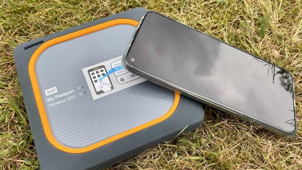 Per MyCloud-App kann man per WLAN auf WD My Passport Wireless SSD zugreifen. (Bild: Thorsten Claus)